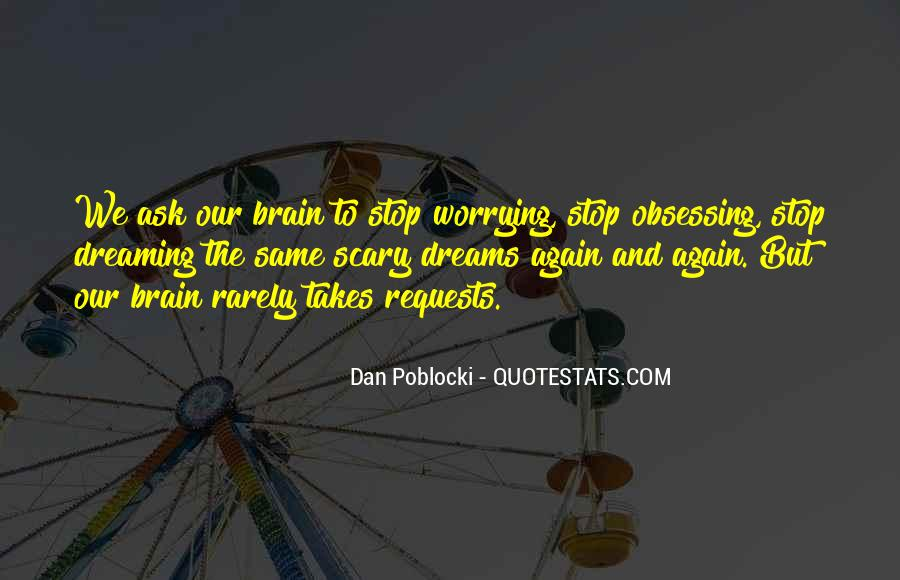 Quotes On Dreaming Again #205378