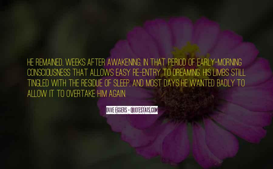 Quotes On Dreaming Again #212858