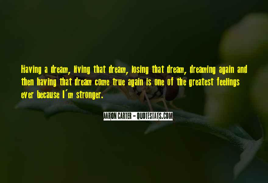 Quotes On Dreaming Again #405040