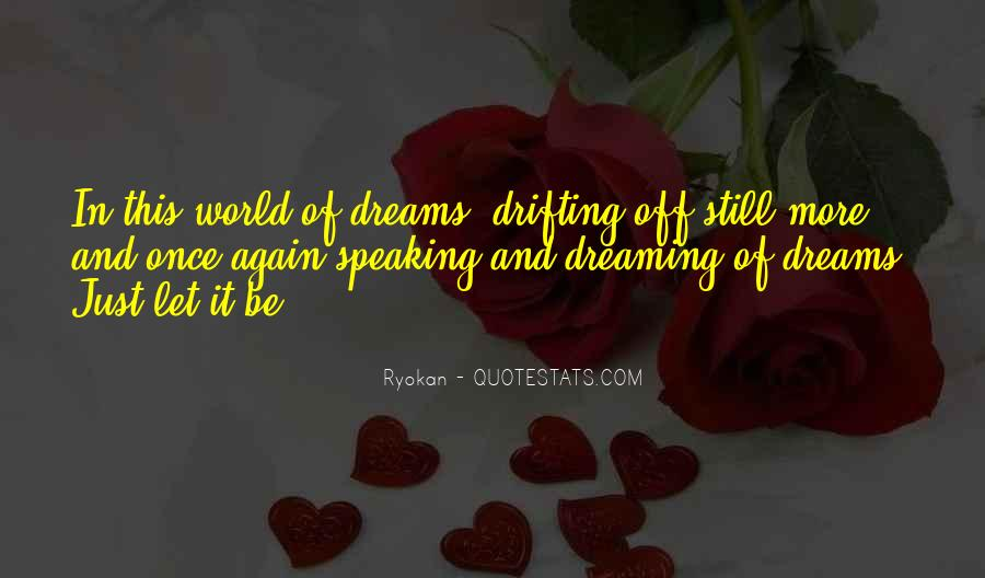 Quotes On Dreaming Again #962842