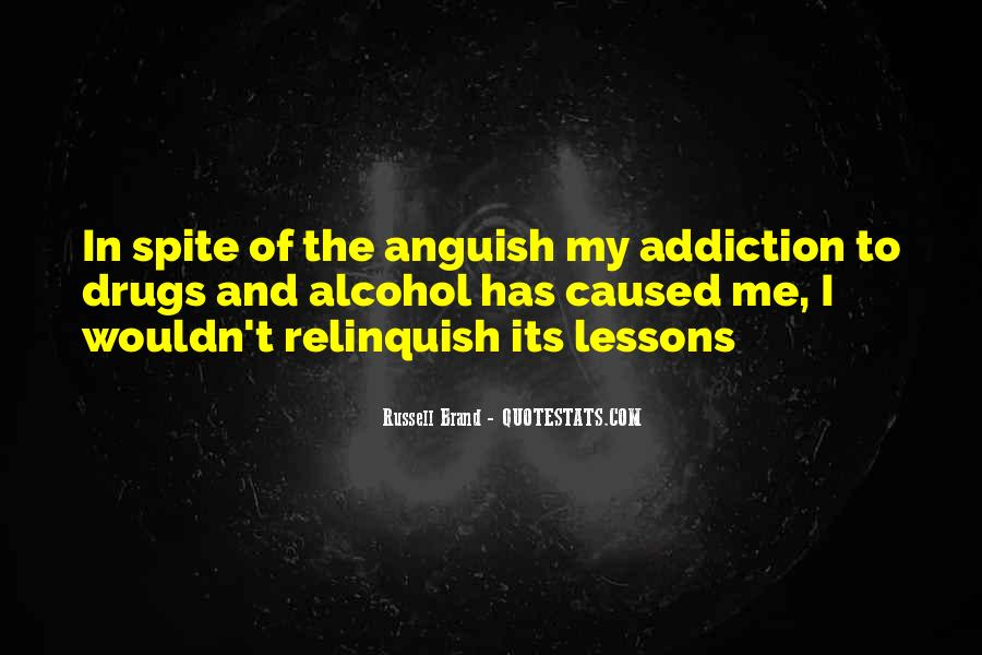 Quotes On Drugs And Alcohol Addiction #947704