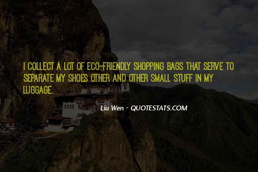 Quotes On Eco Friendly Bags #853310