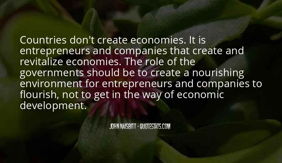 Quotes On Economic Development And Environment #1192128