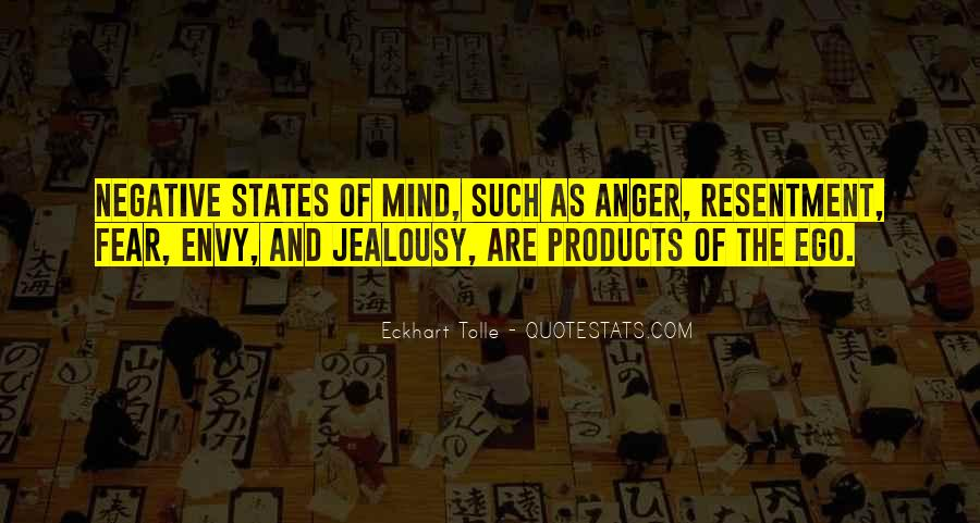 Quotes On Ego And Anger #211766