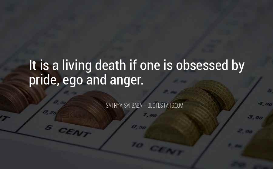 Quotes On Ego And Anger #276721