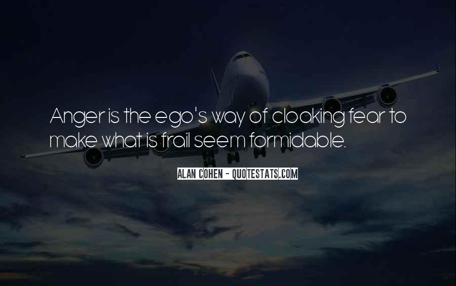 Quotes On Ego And Anger #503261