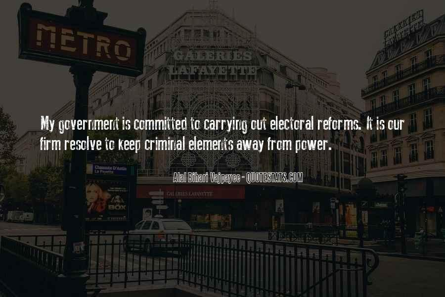 Quotes On Electoral Reforms #890155