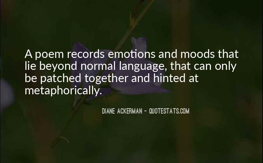 Quotes On Emotions And Moods #81934