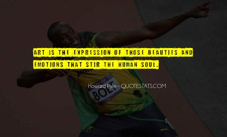 Quotes On Emotions Expression #115790