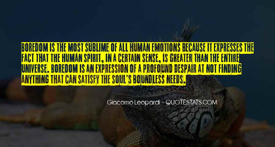 Quotes On Emotions Expression #1493214