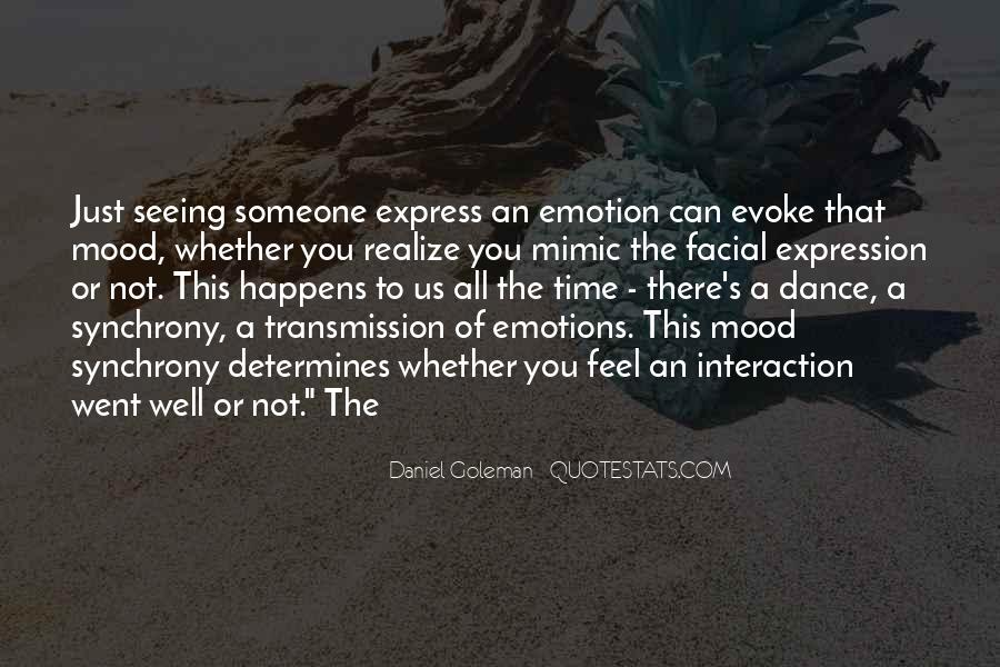 Quotes On Emotions Expression #1649301