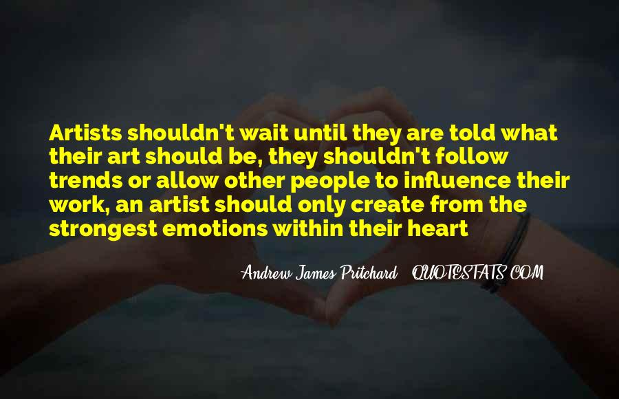 Quotes On Emotions Expression #1748628
