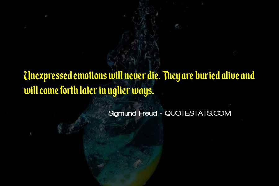 Quotes On Emotions Expression #199730