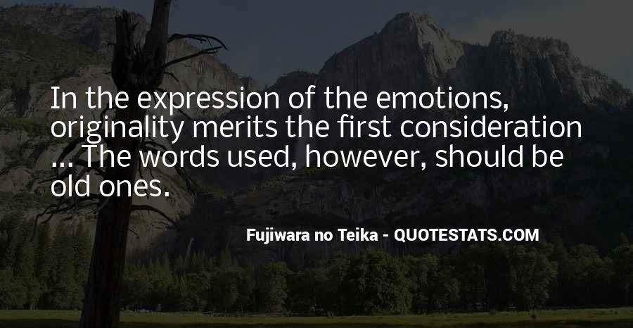 Quotes On Emotions Expression #248915