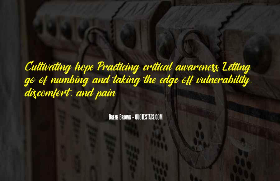 Quotes About Numbing Pain #868647