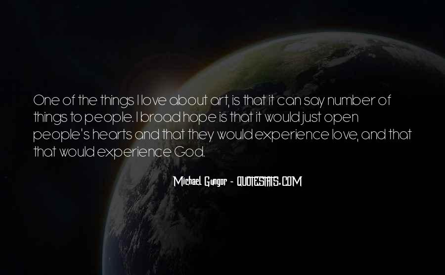 Quotes On Experience Of Love #114439