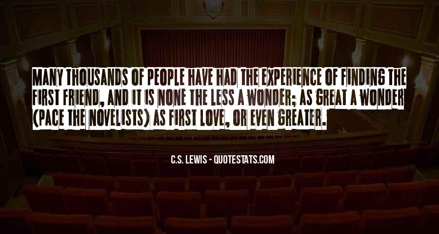 Quotes On Experience Of Love #193635