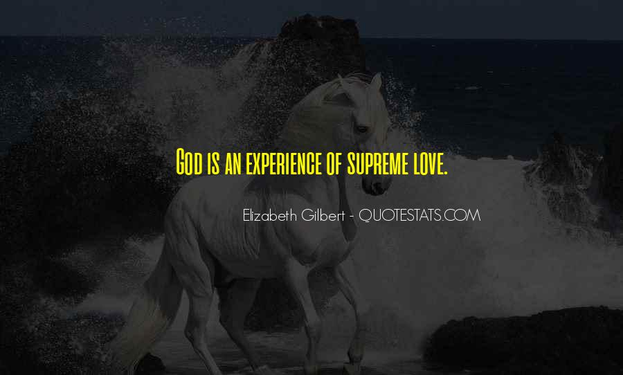 Quotes On Experience Of Love #1980