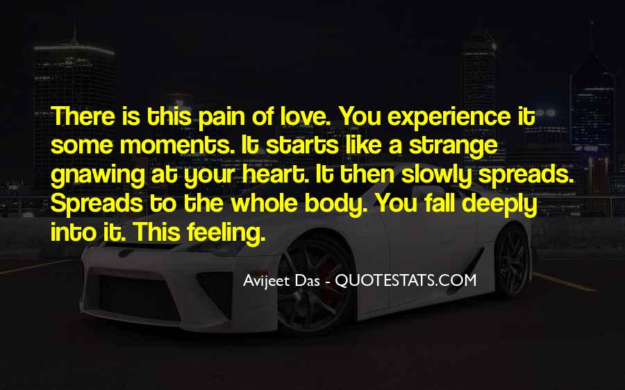 Quotes On Experience Of Love #202236