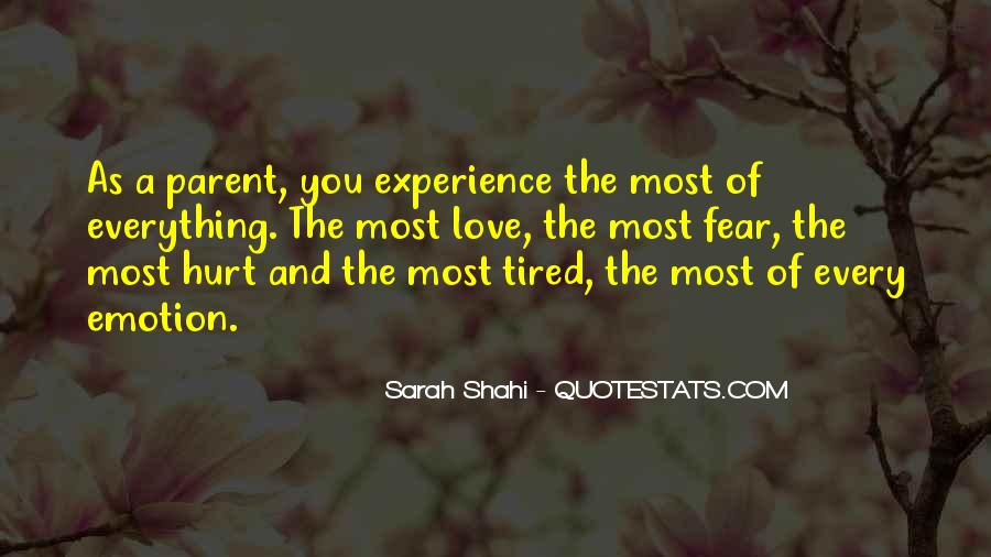 Quotes On Experience Of Love #217438