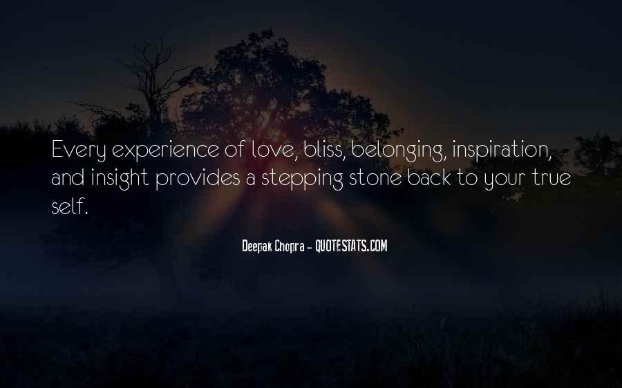 Quotes On Experience Of Love #279477