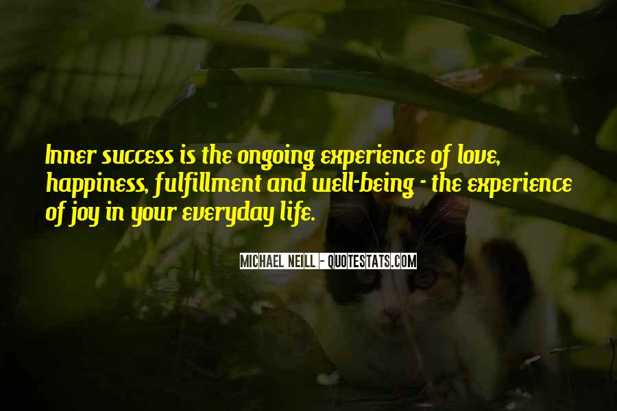 Quotes On Experience Of Love #70008