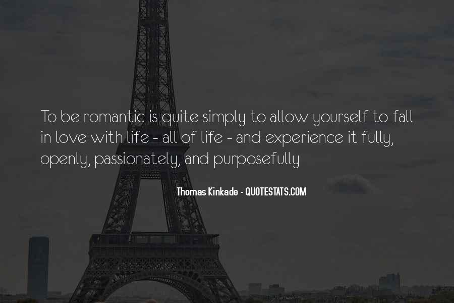 Quotes On Experience Of Love #97407