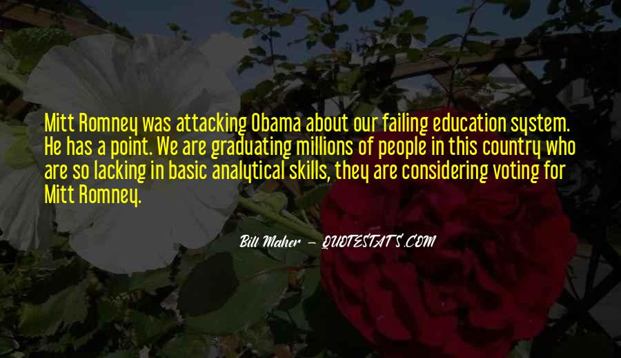 Quotes On Failing Education System #437999
