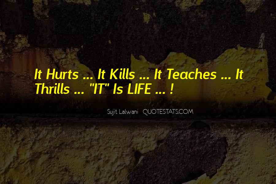 Quotes About Thrills #303549