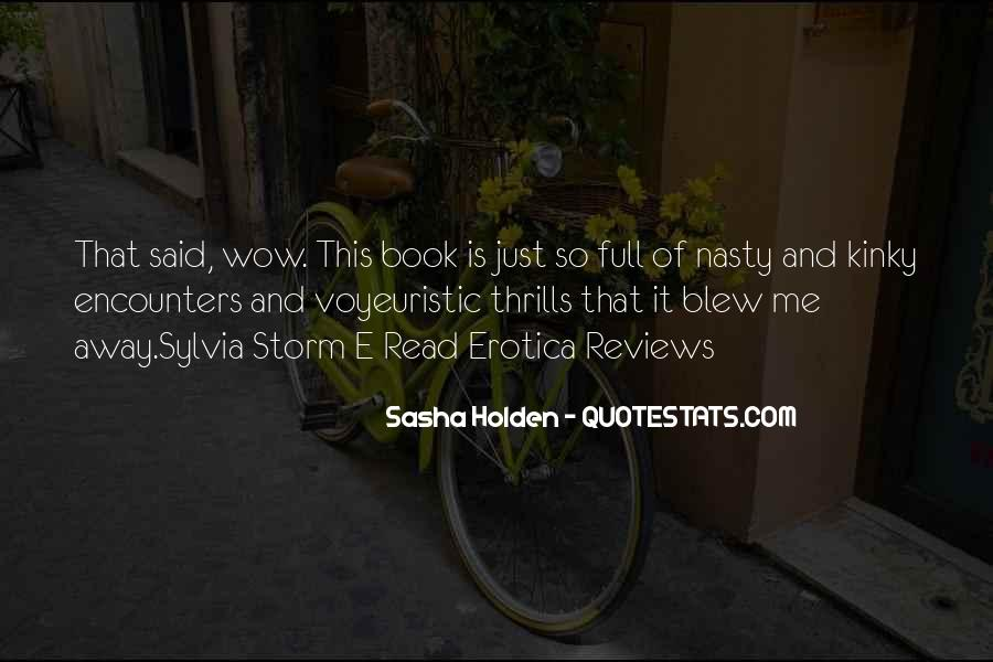Quotes About Thrills #372126