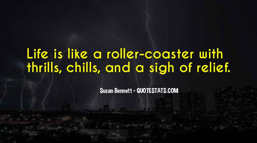Quotes About Thrills #37425