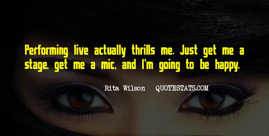 Quotes About Thrills #55273