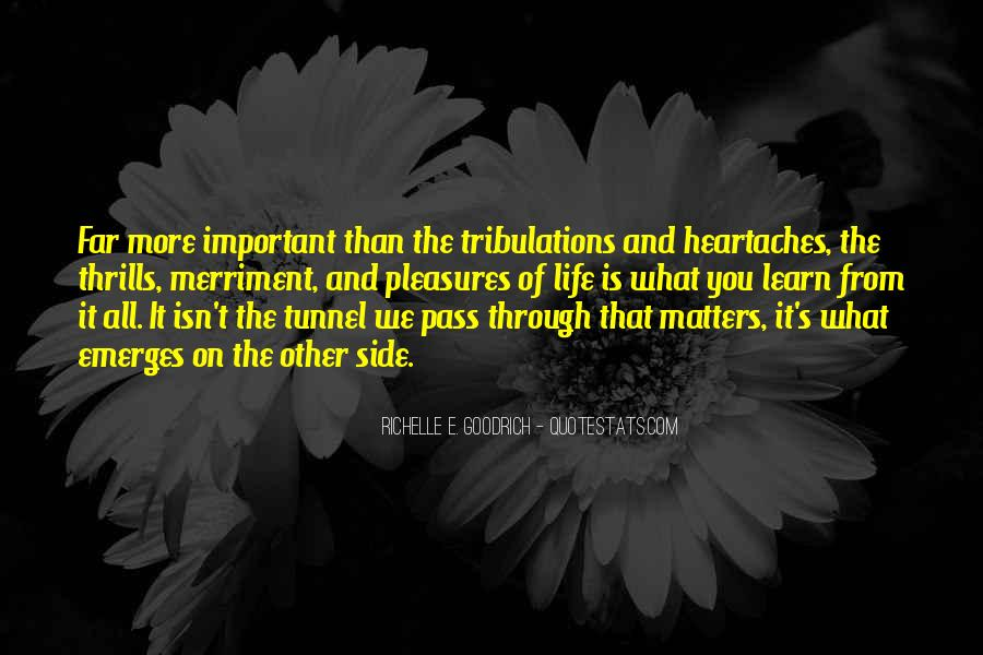 Quotes About Thrills #595981
