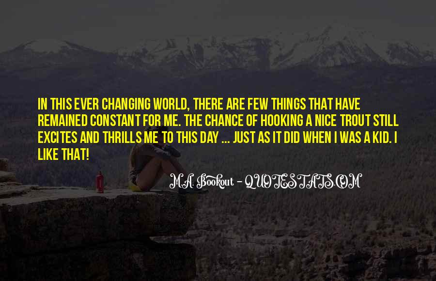 Quotes About Thrills #621697