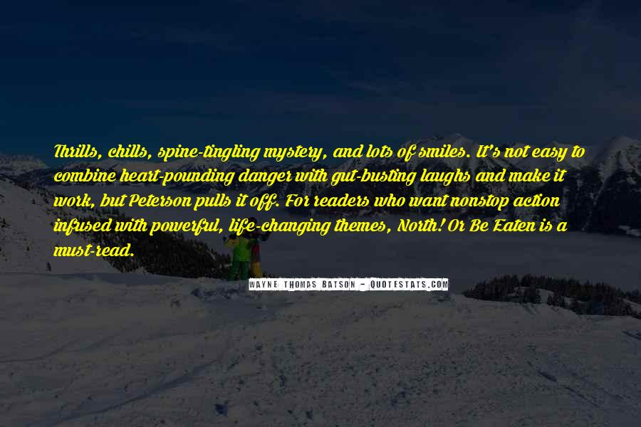 Quotes About Thrills #696883