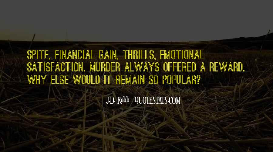 Quotes About Thrills #697377