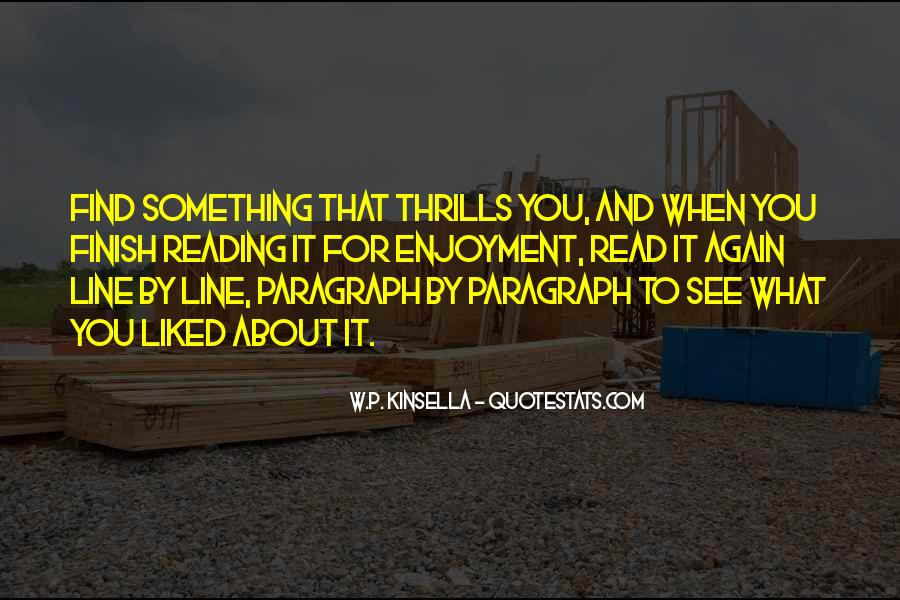 Quotes About Thrills #737777