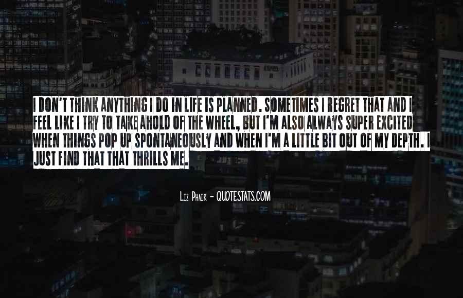 Quotes About Thrills #80144