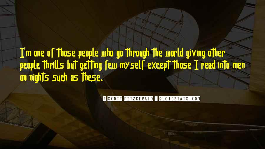 Quotes About Thrills #952321