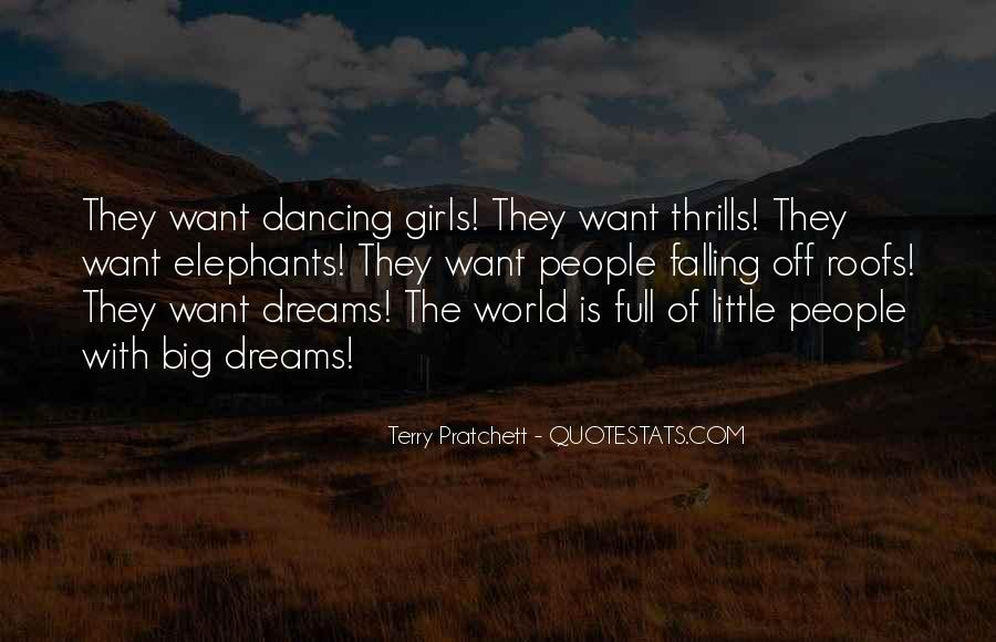Quotes About Thrills #991616