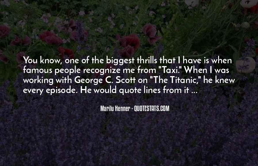 Quotes About Thrills #994976