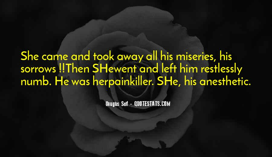 Quotes About Numb Love #1199914