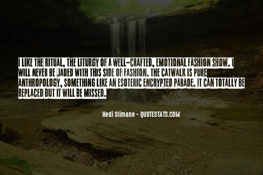 Quotes On Fashion Parade #138990