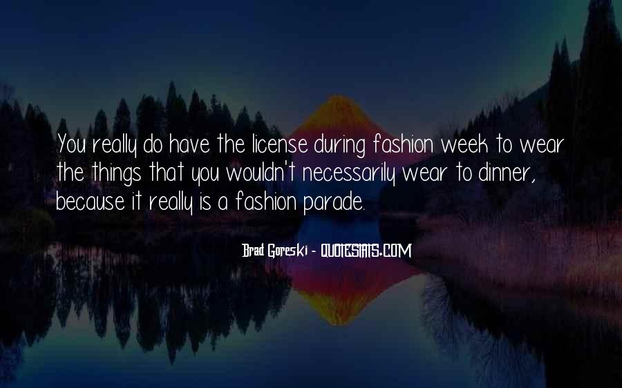 Quotes On Fashion Parade #1756748