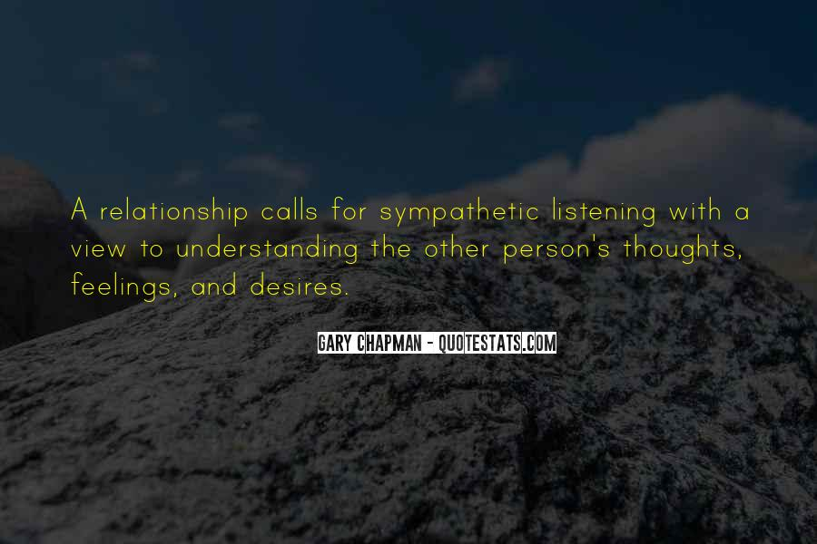 Quotes On Feelings And Understanding #1040109