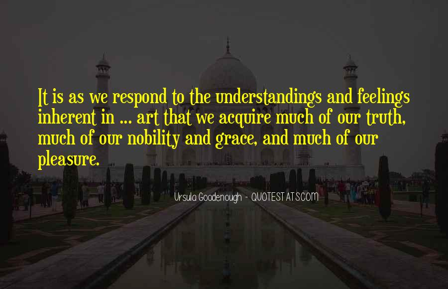 Quotes On Feelings And Understanding #1184563