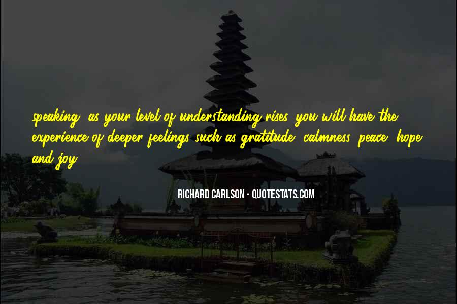 Quotes On Feelings And Understanding #1783129