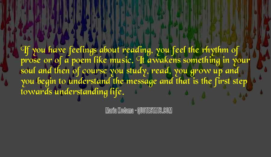 Quotes On Feelings And Understanding #250525
