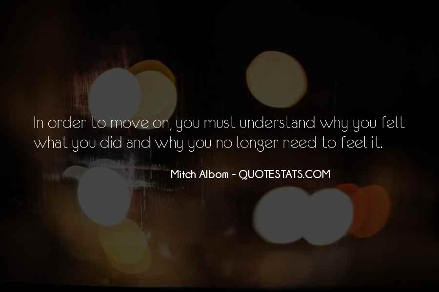 Quotes On Feelings And Understanding #391932