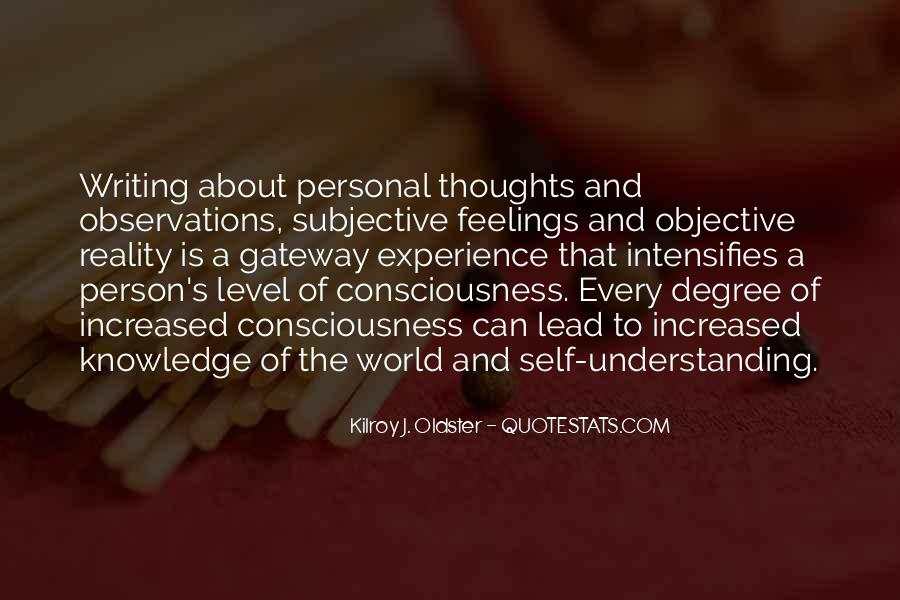 Quotes On Feelings And Understanding #418758